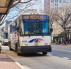 MCI's on Market St (jayayess1190) Tags: bus philadelphia publictransportation pennsylvania masstransit marketstreet mci newjerseytransit motorcoachindustries allisonb500r detroitdieselseries60