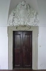 Praha, NM, kostel PM Snn (ladabar) Tags: prague prag praha portal kostel portl pragdetail
