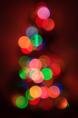 Sapin de lumière (StephanExposE) Tags: sapin sapindenoël christmas christmastree noël decoration décoration guirlande lumière light bokeh canon 600d 1635mm 1635mmf28liiusm paris iledefrance france stephanexpose flou