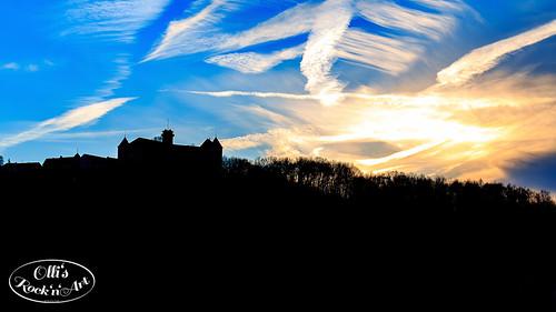 Sunset @ Schloß Waldenburg