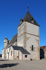 Lourdoueix-Saint-Michel (Indre) (sybarite48) Tags: lourdoueixsaintmichel indre france église kirche church كنيسة 教会 iglesia εκκλησία chiesa kerk kościół igreja церковь kilise échauguette wachturm watchtower برجالمراقبة 岗楼 torredevigilancia παρατηρητήριο torrediosservazione 望楼 wachttoren wieżastrażnicza torredevigia сторожеваябашня gözetlemekulesi