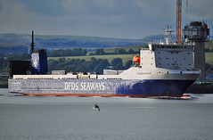 Finlandia Seaways Klaipeda (Infinity & Beyond Photography) Tags: finlandia seaways klaipeda cargo ship boat vessel firth forth river scotland