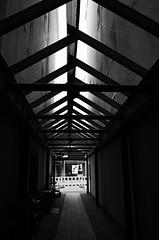 (formwandlah) Tags: kaiserslautern urban city noir dark strange melancholic melancholisch sureal bizarr skurril abstrakt abstract darkness light bw blackwhite black white sw monochrom high contrast ricoh gr pentax formwandlah thorsten prinz einfarbig surreal architecture architektur tower turm babel hochhaus rathaus finsternis dramatic sky wolken dster outdoor minimalismus schrfentiefe gebude