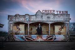 Creep Train (ktsingos) Tags: creep train abandoned luna park