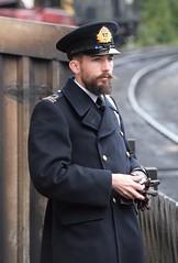 DSC_0347a (robindefoe2009) Tags: nymr wartime weekend 1940s heritage steam railway north yorks moors pickering levisham le visham goathland grosmont whitby stockings military reenactment reenactors