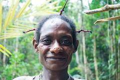 Corowai woman