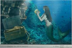 ESSERE O NON ESSERE (ADRIANO ART FOR PASSION) Tags: undersea sub teschio skull essereononessere tobeornottobe fotomantaggio photomontage sirena mermaid fantasia fantasy tesoro tresaure sottacqua scheletro skeleton cassa cassaaperta photoshop photoshopcreativo