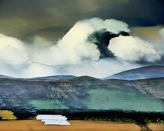 cloud over the cheviots (barneymcgrew) Tags: icm wobble cheviothills multipleexposures