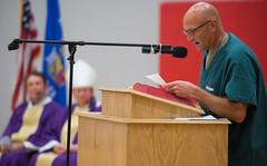 1636redgranite-11 (The Compass News) Tags: bishopricken redgranite inmates jail mercy ministry prison yearofmercy