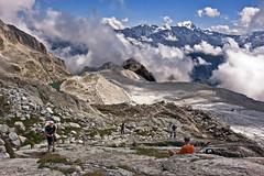 Climbing up to the Cabane d'Orny (2831 alt. ). Fix You No. 4858. (Izakigur) Tags: cabanedorny swiss lasuisse laventuresuisse liberty lepetitprince thelittleprince ilpiccoloprincipe nikond700 nikkor nikkor2470f28 glacier cas champex climbeverymountain suiza suisia suizo suïssa svizzera dieschweiz d700 izakigur feel fixyou topf25 topf350 100faves 200faves 250faves 300faves