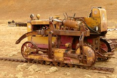 This ran on a track (openspacer) Tags: farmmachinery