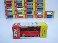 LEGO 1:87 boxes (jeroenvandorst) Tags: lego 187 ho h0 1960 vintage