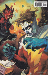 Madman Comics 1 / back cover (micky the pixel) Tags: comics comic heft darkhorsecomics madmancomics mikeallred gmennfromhell handpuppe teufel devil