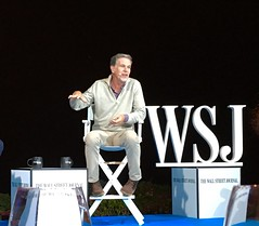 Netflix & Chill pill -- Reed Hastings at WSJ.D Live (jurvetson) Tags: reed hastings netflix ceo wsjd live chill pill