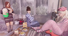 Gesundheit! Sari-Sari for Arcade Dec 2016 (Abby-Anne) Tags: sarisari sick day winter cold comfy flu seasonal indoor original mesh sl secondlife arcade gacha bento snow christmas holiday