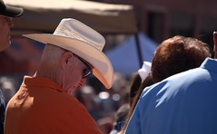 Cowboy Hat (Photographs By Wade) Tags: pawhuska oklahoma osagecounty cowboyhat cowboy man men people person headcover nationalindiantacochampionship