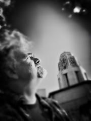 (306/366) Citizen John (CarusoPhoto) Tags: carusophoto caruso john 366 365 project day photo epic illinois stcharles bw white black blackandwhite portrait self plus 7 iphone hipstamatic