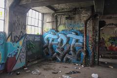 Fre (NJphotograffer) Tags: graffiti graff new jersey nj newark abandoned building urban explore fre void ldz lostdreamz crew