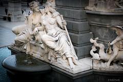 Pallas Athene Brunnen (Anita Pravits) Tags: demokratieimherzen brunnen imherzenderdemokratie pallasathene parlament vienna wien fountain offenesparlament parliament flus river allegorie allegory innerestadt