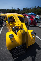 IMG_2041 (draydogg) Tags: 10thannual 1948fordthames cambria carshow entry52 fordthames paulhinkle pinedorado pinedoradocarshow yellow