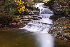 Falls in the fall - Robert Treman State Park (HelenC2008) Tags: waterfalls roberttremanstatepark fingerlakes cayugalake senecalake fall foliage nikon d810 upstateny