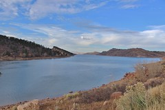 Horsetooth Lake in Autumn (Chante Etan) Tags: horsetooth lake fortcollins co colorado ftcollins