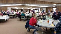 Luncheon at the Good Shepherd Lutheran Church in Wheaton.