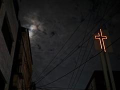 cross_1260969 (strange_hair) Tags: cross church korea street night seoul