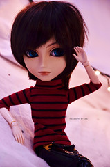 Max   Taeyang Alberic (Kumo~Milk^^) Tags: taeyang alberic max yaoi uke obitsu doll junplanning groove rewigged wig eyelashes gloss