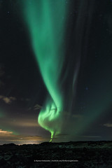 Aurora Tornado (Kjartan Gumundur) Tags: iceland sland auroraborealis northernlights norurljs nordlys polarlict zorzapolarna reykjanes canoneos5dmarkiv tokinaatx1628mmf28profx kjartangumundur arctic photoguide ngc