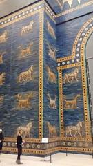 Ishtar Gate detail (Sparky the Neon Cat) Tags: europe germany deutschland berlin mitte museum island museumsinsel pergamon ishtar gate babylon