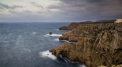Viento del Norte - North wind (eugenio2011) Tags: 550d canon filtrosnd mediterráneo menorca largaexposición