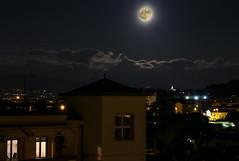 My Moon (Benellissimo) Tags: moon luna super superluna piena firenze cupola brunelleschi notte notturna luci