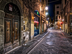 Back alleys (Jim Nix / Nomadic Pursuits) Tags: aurorahdr2017 europe firenze florence hdr italy jimnix lx100 lightroom lumix macphun nomadicpursuits ps panasonic renaissance sony sonya7ii alley evening historic landmark nighttime nightlife pointandshoot sidestreet streetscene travel
