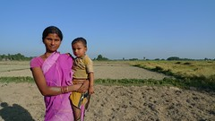 2016 Mamata Devi (25) and son, Shekhar (2) (Foods Resource Bank) Tags: foods resource bank mennonite central committee bicws food security charitable humanitarian hunger women children men farmers kitchen gardens income rice training self help