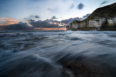 Flamborough Sunrise (jong1982@ymail.com) Tags: nikon d500 hoya pro1 3stop beach sunrise flamborough east yorkshire seascape