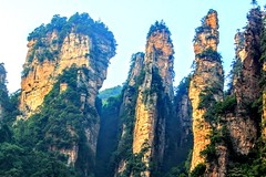 Zhangjiajie, 张家界国家森林公园、中国 (cattan2011) Tags: 张家界国家森林公园 中国 mountains mountainscape travelblogger traveltuesday travelphotography travel natureperfection naturephotography nature landscapephotography landscape