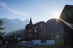 Hotel Jungfrau (mightymightymatze) Tags: switzerland schweiz suisse mrren bern berne berneroberland lauterbrunnen lauterbrunnental mountains mountain berge berg alpen alps alpes