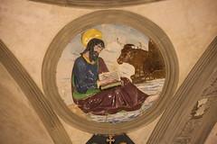San Luca attr. a Filippo Brunelleschi, 1445 ca. (Matteo Bimonte) Tags: tondo arte art cappellapazzi pazzi filippobrunelleschi brunelleschi firenze florence rinascimento evangelista