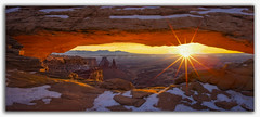 "Sunrise at Mesa Arch-Canyonlands National Park (Joalhi ""Around the World"") Tags: mesaarch sunrise sun colors canyonlands moab utah"