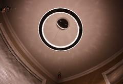 Illuminated #3 (OrlandParkBirdieGirl) Tags: led hanging light fixture ceiling immuminated the flickr lounge week 47 theme one camera lens sigma dc fisheye hsm 10 mm 128 canon t41