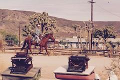 Cowboy in Pioneertown (NeoRevolut1on) Tags: pioneertown california town city church wildwildwest typewriters oldtime oldtown