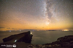 Milky Way, Neist Point, Isle of Skye (Andy Stables) Tags: milky way neist point lighthouse minch moonen bay waterstein glendale skye scotland canon 5d4 5d mark iv