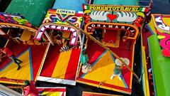 CONGESTIONAMIENTO DE TRAJINERAS (FOTOS PARA PASAR EL RATO) Tags: tpico canoas gente cdmx xochimilco agua