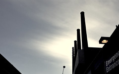 Chicago, 2016 (gregorywass) Tags: hospital sky smokestacks district heating cooling electric plant university illinois chicago uic medical center november winter 2016 emergency infrastructure