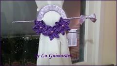 20150813_174826 (Artesanato com amor by Lu Guimaraes) Tags: de flor fuxico cortinas reciclagem tecido prendedor