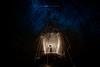Lightpainting - Uzerche (Sebastien Arico) Tags: lightpainting sparks photodenuit pailledefer