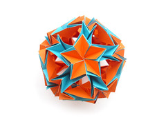 Катя, с днём рождения! (Vladimir Phrolov) Tags: paper origami modular paperfolding modularorigami kusudama оригами кусудама vladimirfrolov