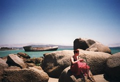 SA-16 (fjordaan) Tags: southafrica capetown 1999 boulders scanned kelly sa