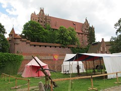 High Castle, Malbork Castle (Stewie1980) Tags: camp castle canon high order poland polska medieval powershot polen malbork teutonic zamek marienburg sx130 ordensburg wysoki sx130is canonpowershotsx130is